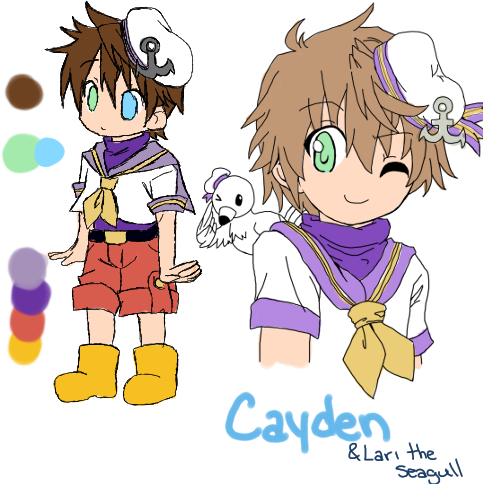 Cayden Reference Sheet by breina