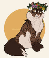 Commission: Flower Crown by K0rdi4n