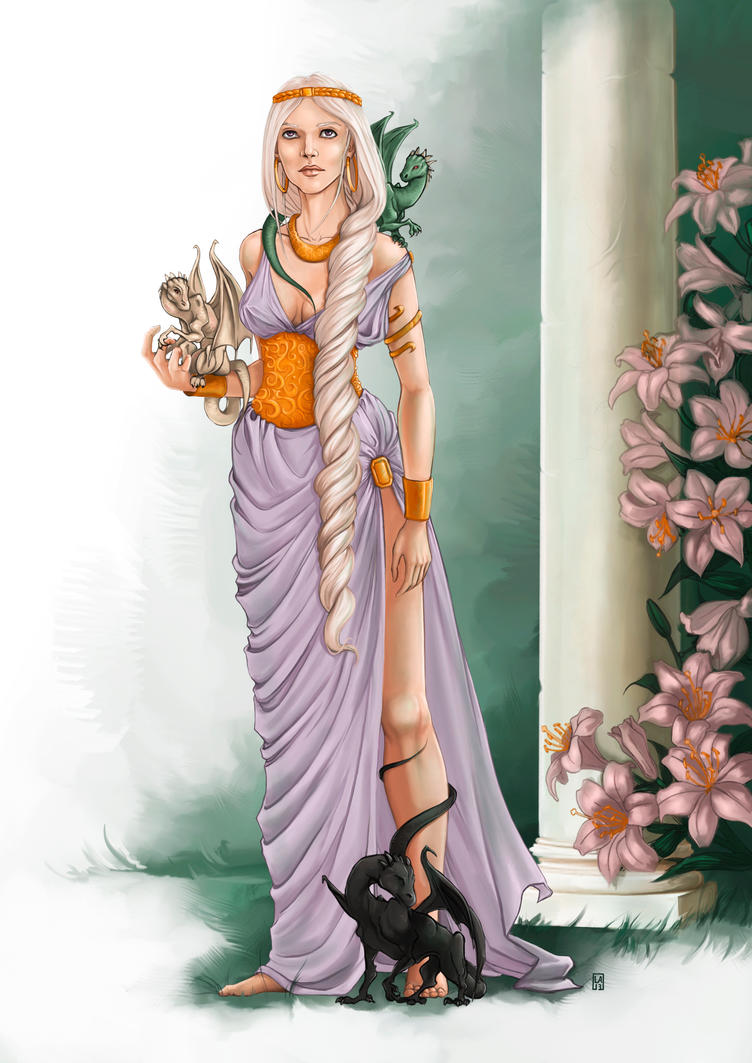 Daenerys Targaryen by Guduline