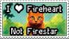 I love Fireheart not Firestar by Eyenoom