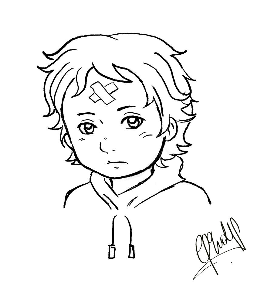 anime chibi boy coloring pages - photo#36