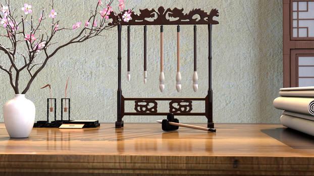 Desk-- stage dl