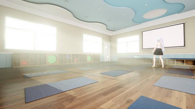 Yoga room  stage dl