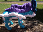 Suicune crochet- with pattern