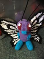 Crochet Butterfree by Robezpierre