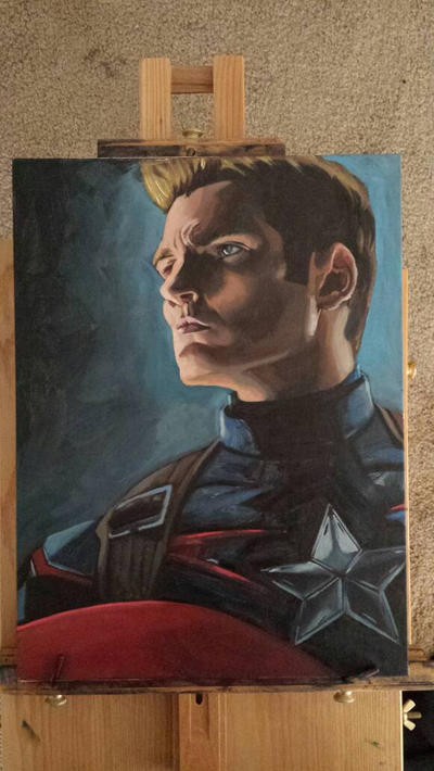Captain America  by preludeh23