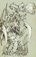 Lesale Death Bringer The Venomancer by KenshjnPark