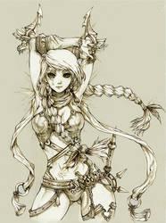 FLORA of THRUNE - The Assassin of love by KenshjnPark