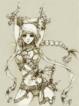 FLORA of THRUNE - The Assassin of love