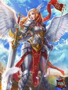 Roxy- The Paladin Angel