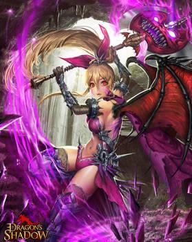 ORST _ Devil Axe Girl _evolution