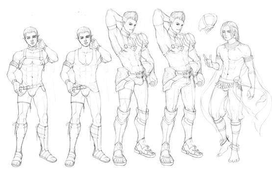 BaraGame Character design