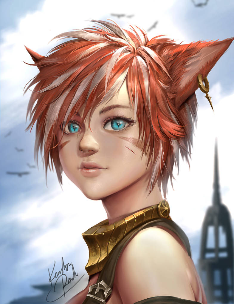 [Final Fantasy XIV] Nami Sweetheart