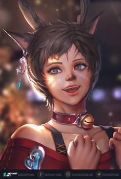 [Final Fantasy XIV] Naaki
