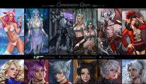 ART COMBINATION _ Commission Open !