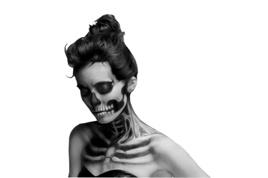 Skull Woman by Blutmondlicht