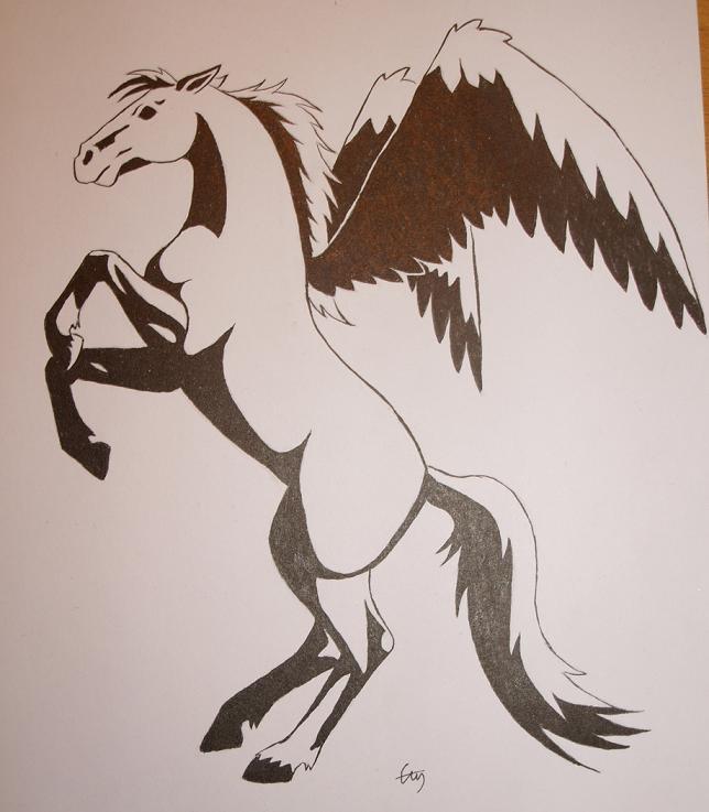 Pegasus by ziiin