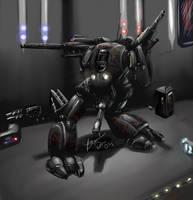-Starcraft - Goliath- by aznmantis