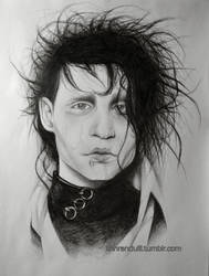 Edward Scissorhands. by jamm3rs