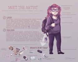Meet the artist.