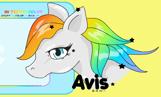 Pony Vector Layout Snippit by jessimuffin