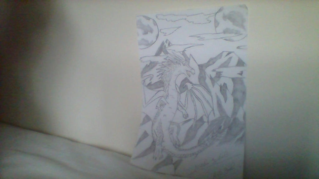 My Art Book Cover : My art book cover design icewing by soulwings on deviantart