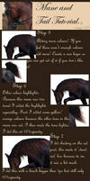 Mane and Tail Tutorial. part 2