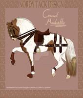Carmel Machiatto Tack by emmy1320