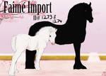 1273 -74 Faime import | Art auction | Judged