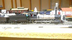 Repainted Mantua 4-6-0