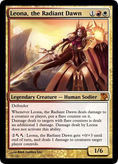 leona the radiant dawn skins - photo #7