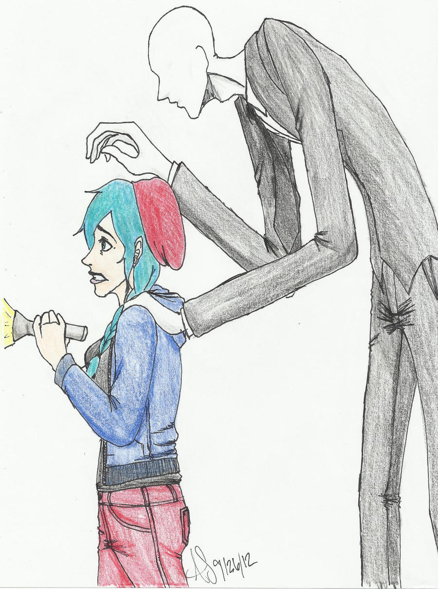 Slenderman Stalking by PandaCookie013