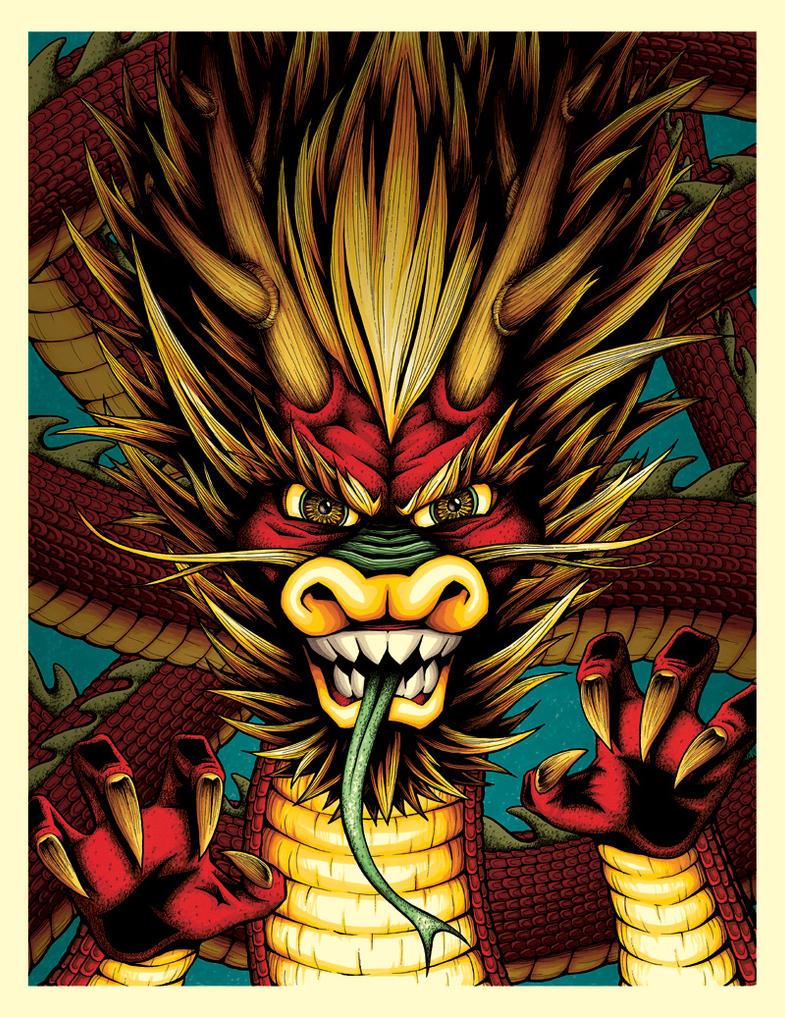 Dragon by NicholasIvins