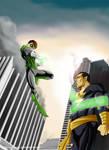 Green Lantern vs Black Adam