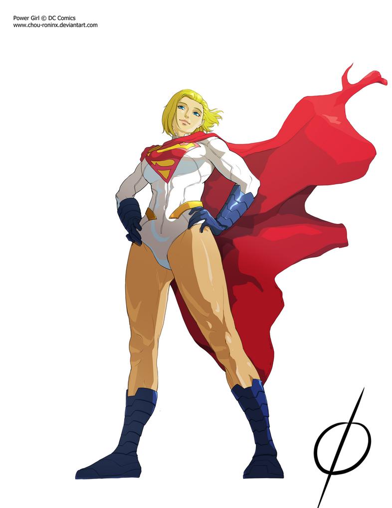 Powergirl Earth 2 by chou-roninx