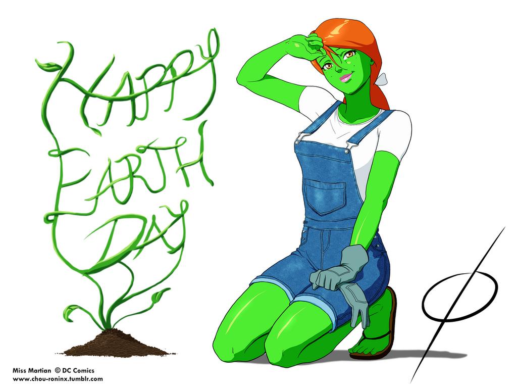 Happy Earth Day by chou-roninx