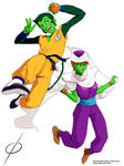 DBZ Cosplay with Beast Boy and Miss Martian