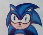 Goth Vampire Sonic