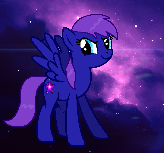 MLP Nebula wallpaper by GothNebula