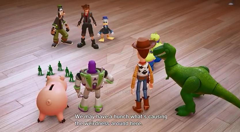 Kingdom Hearts 3 Toy Story World By Gothnebula On Deviantart