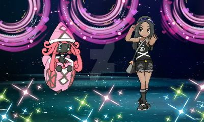 Pokemon Ultra Moon: Me and Tapu Lele by GothNebula