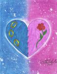 SonAmy Friendship/Love Heart