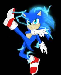 Sonic the Hedgehog 2020 by GothNebula