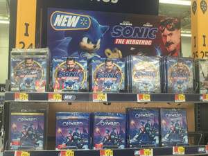 Sonic and Onward on DVD