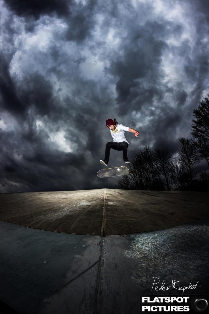 Nollie Backside Kickflip by Flipslide