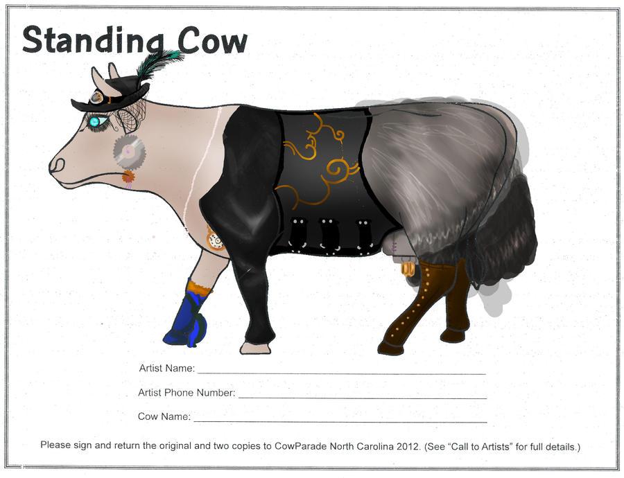 Steampunk Cow by Ashroxxxsocks on DeviantArt