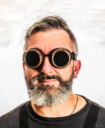 Steampunk Selfie by PauloHod