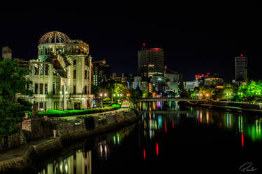 A-Bomb Dome, Hiroshima by PauloHod