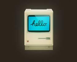 First Macintosh by deepdesign
