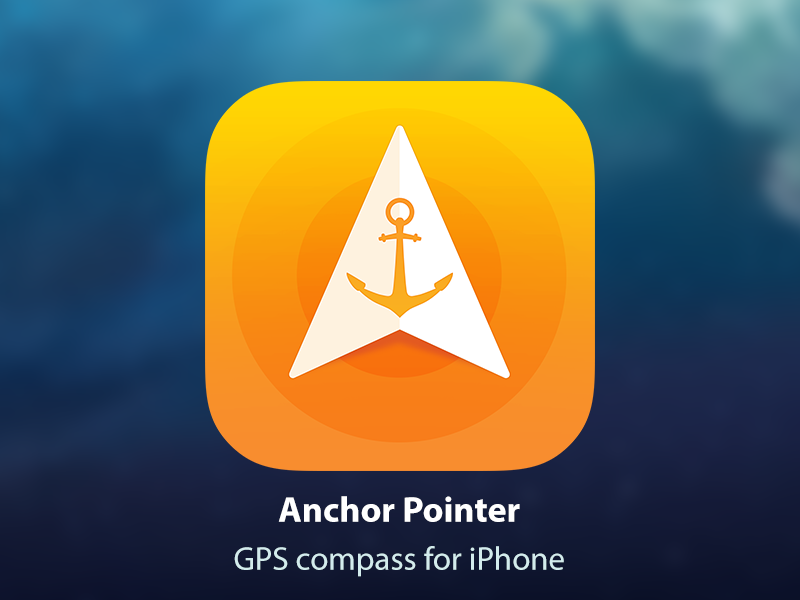 GPS compass for iPhone by deepdesign